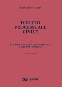 Diritto Processuale Civile Vol. 5 di Luiso