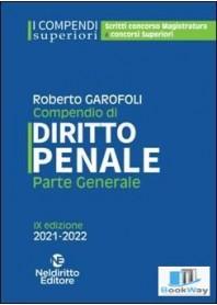 COMPENDIO SUPERIORE DI DIRITTO PENALE PARTE GENERALE 2021-2022