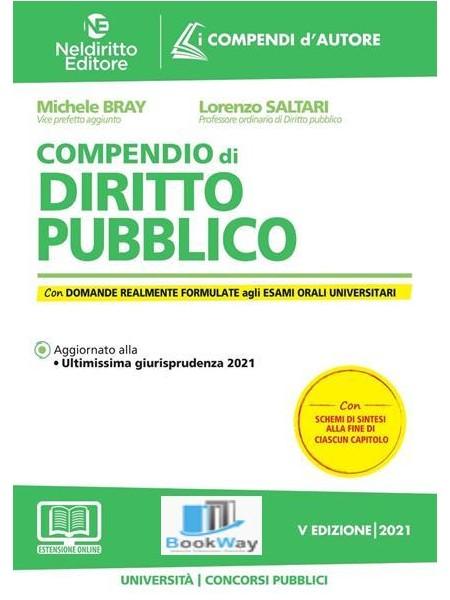 compendio di diritto pubblico 2021