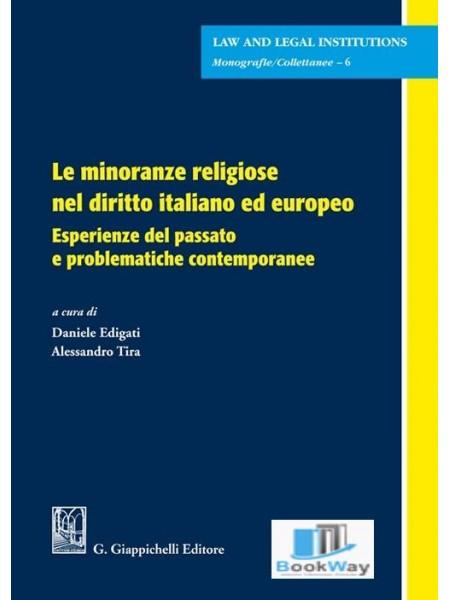 minoranze religiose nel diritto italiano ed europeo (le)