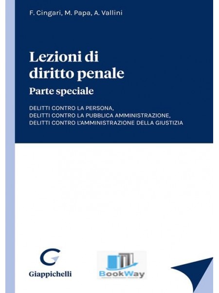 lezioni di diritto penale. parte speciale