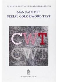 Manuale del Serial Color-Word Test di Rubino, Caramia