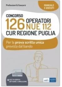 Concorso 126 Operatori NUE 112 CUR Regione Puglia