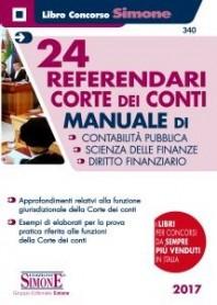 24 Referendari Corte dei Conti di AA.VV.