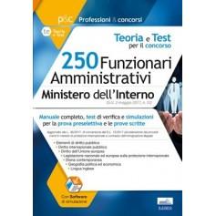 Concorso 250 Funzionari Amministrativi Ministero dell'Interno Commissioni Protezione Internazionale e Diritto d'Asilo di AA.VV.