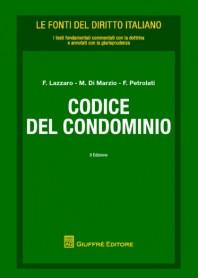Codice del Condominio di Di Marzio, Lazzaro, Petrolati