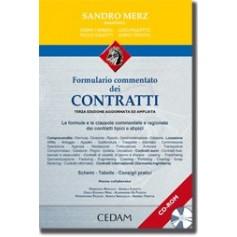 Formulario Commentato Dei Contratti + CD-ROM di Merz