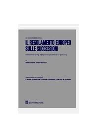 Il Regolamento Europeo sulle Successioni di Bonomi, Wautelet