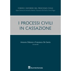 I Processi Civili in Cassazione di Didone, De Santis