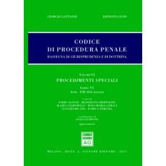 Codice Procedura Penale Rassegna di Giurisprudenza e di Dottrina Vol VI Libro VI di Lattanzi, Lupo