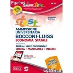 Test Ammissione Bocconi-Luiss - Economia Statale di Giuseppe Cotruvo