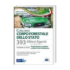 Concorso 393 Allievi Agenti Corpo Forestale dello Stato di Nissolino
