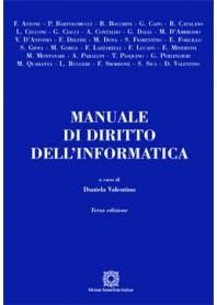Manuale di Diritto dell'Informatica di Valentino