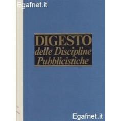 DIGESTO DELLE DISCIPLINE PUBBLICISTICHE aggiornamento IV