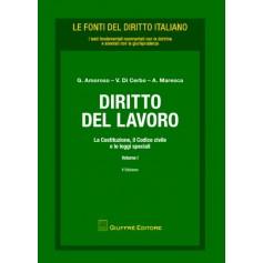 Diritto del Lavoro Vol. I di Amoroso, Di Cerbo, Foglia, Maresca