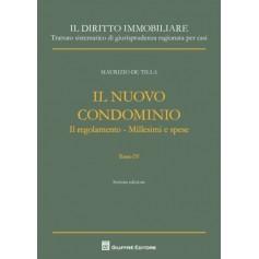 Il Nuovo Condominio Tomo IV di De Tilla