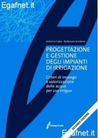 Progettazione E Gestione Degli Impianti Di Irrigazione di Antonina Capra, Baldassarre Scicolone