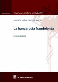 La Bancarotta Fraudolenta di D' Avirro, De Martino
