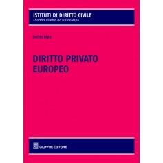 Diritto Privato Europeo di Alpa