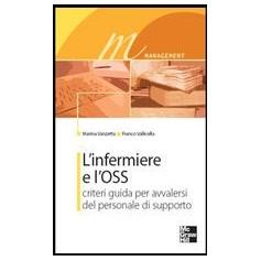 L'Infermiere E L'Oss - Criteri Guida Per Avvalersi Del Personale Di Supporto di Vanzetta, Vallicella