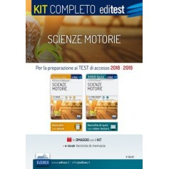 Editest Kit Scienze Motorie