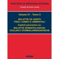 Malattie da Agenti Fisici, Chimici Ambientali Vol. IV Tomo II di Larizza