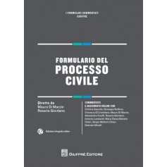 Formulario del Processo Civile di Di Marzio, Giordano