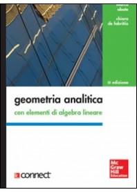 Geometria Analitica Con Elementi Di Algebra Lineare di Abate, De Fabritiis