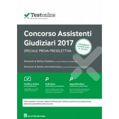 Concorso Assistenti Giudiziari 2017 Prova Preselettiva di Sciarrotta , Di Cristofano