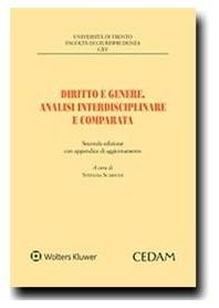Diritto e Genere Analisi Interdisciplinare e Comparata di Scarponi