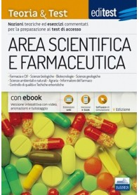 Editest Area Scientifica e Farmaceutica Teoria ed Esercizi TT3