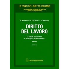 Diritto del Lavoro Vol. II di Amoroso, Di Cerbo, Maresca
