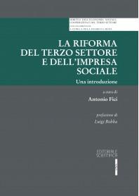La Riforma del Terzo Settore e dell'Impresa Sociale di Fici