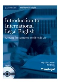 Introduction To International Legal English di Krois, Lindner