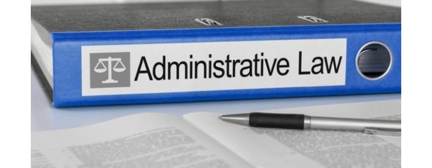 Diritto Amministrativo, Diritto Processuale Amministrativo e Giustizia Amministrativa